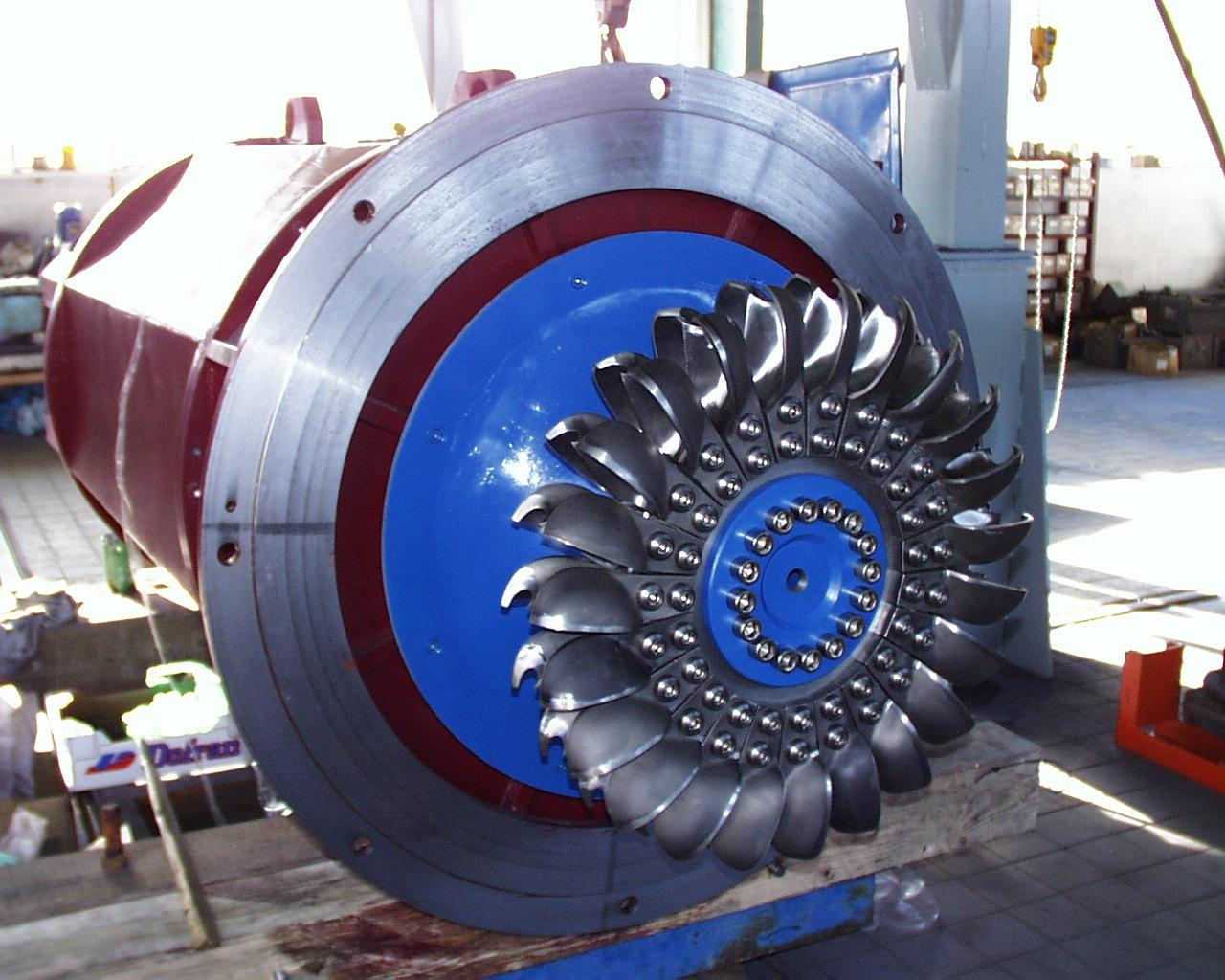 construction and working of francis turbine pdf